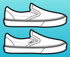 Vans Shoes Vector
