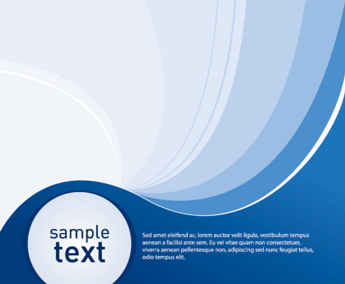 Sample Blue Background