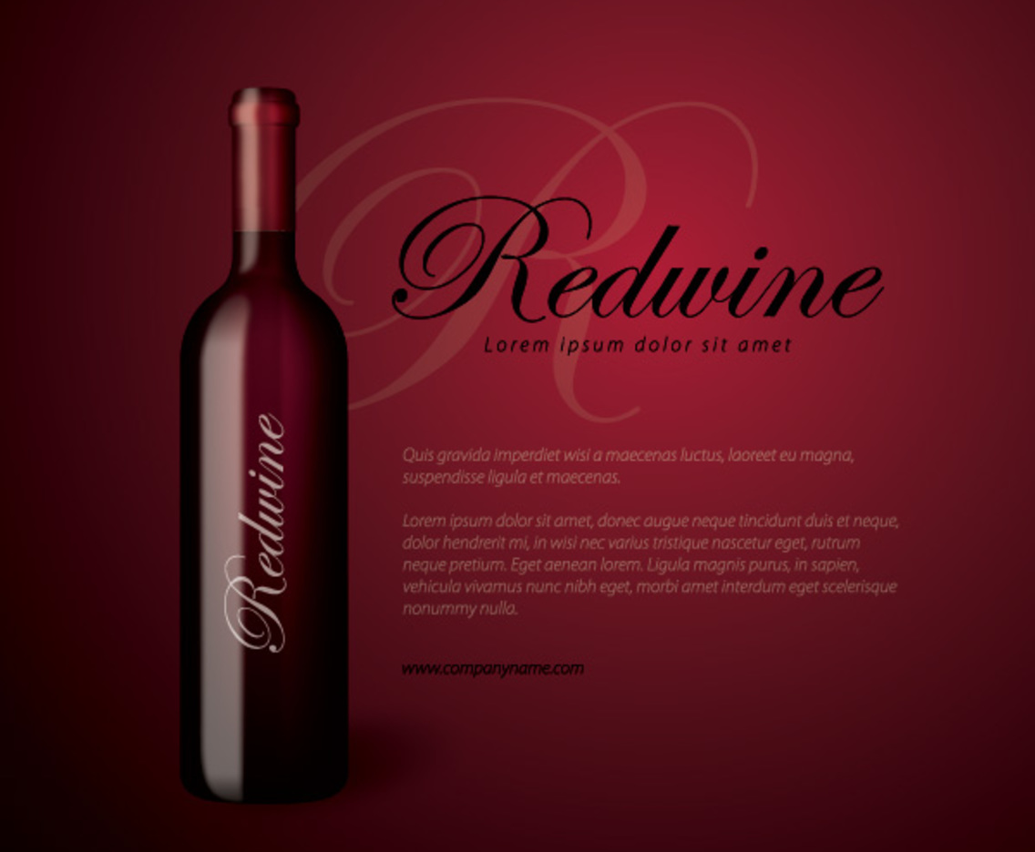 Redwine Bottle