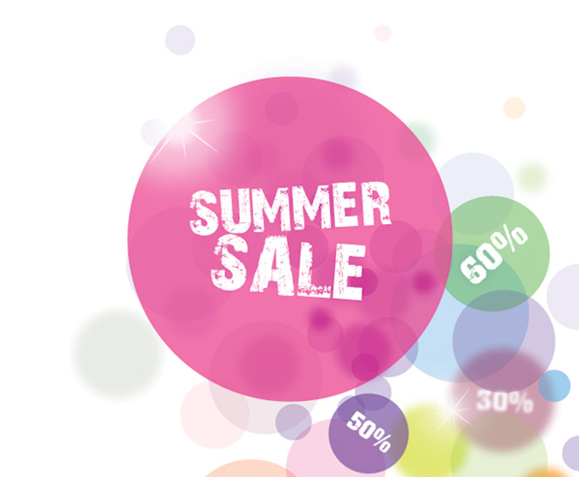 Summer Sale Circles