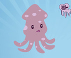 Octopus Cartoon Character