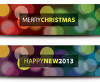 Christmas and New Year Banners