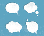 Grunge Speech Bubbles