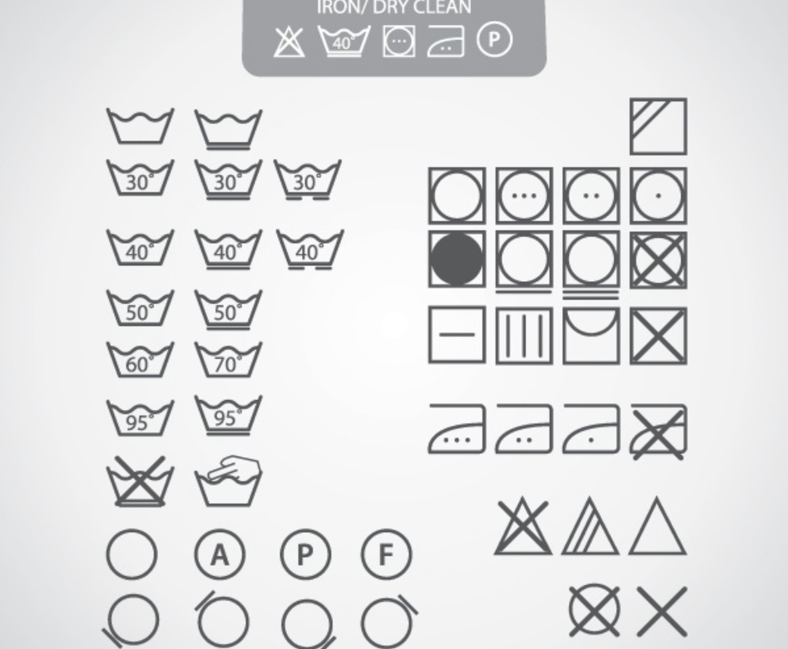 Dry Clean Icons