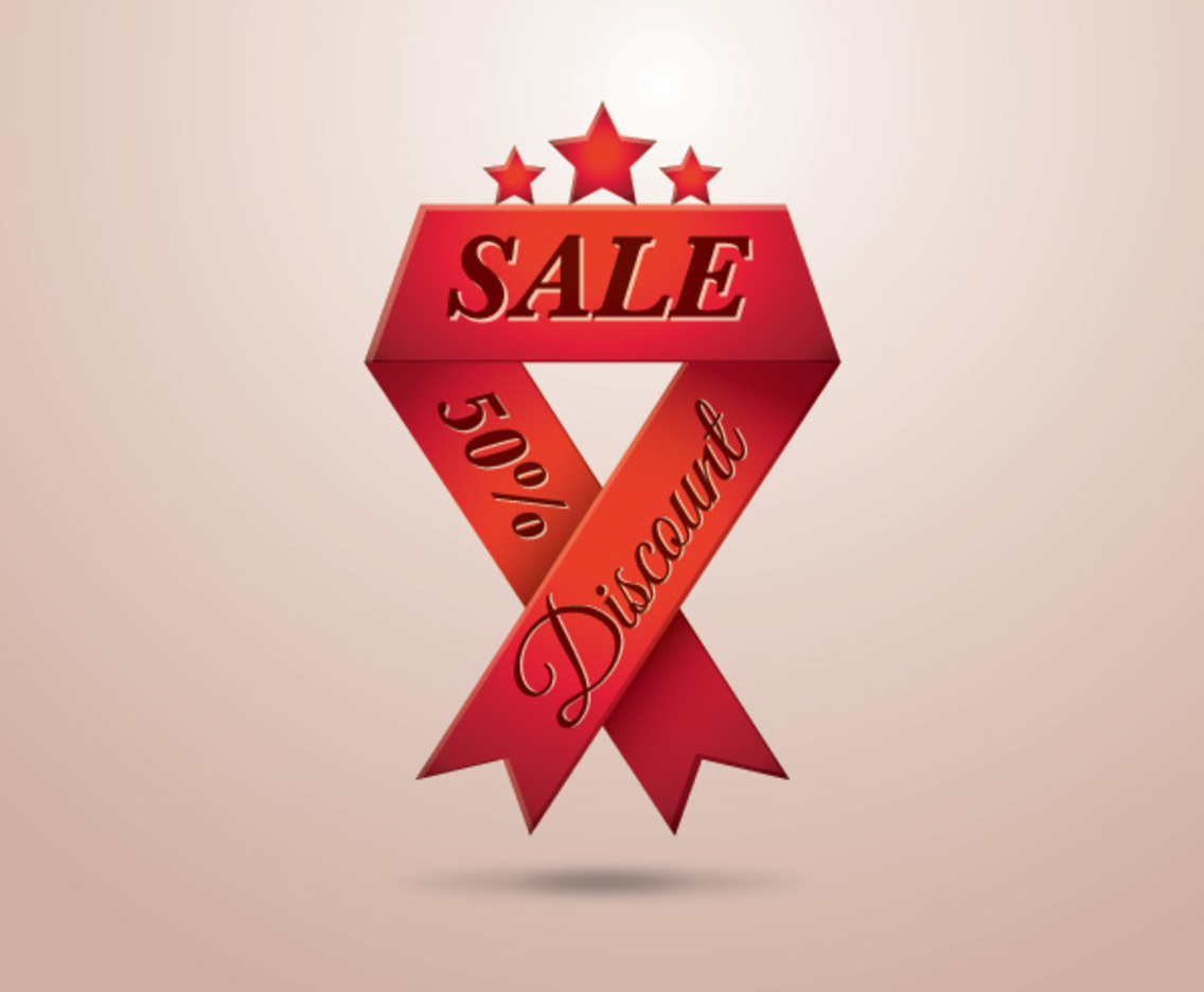 Sale Ribbon