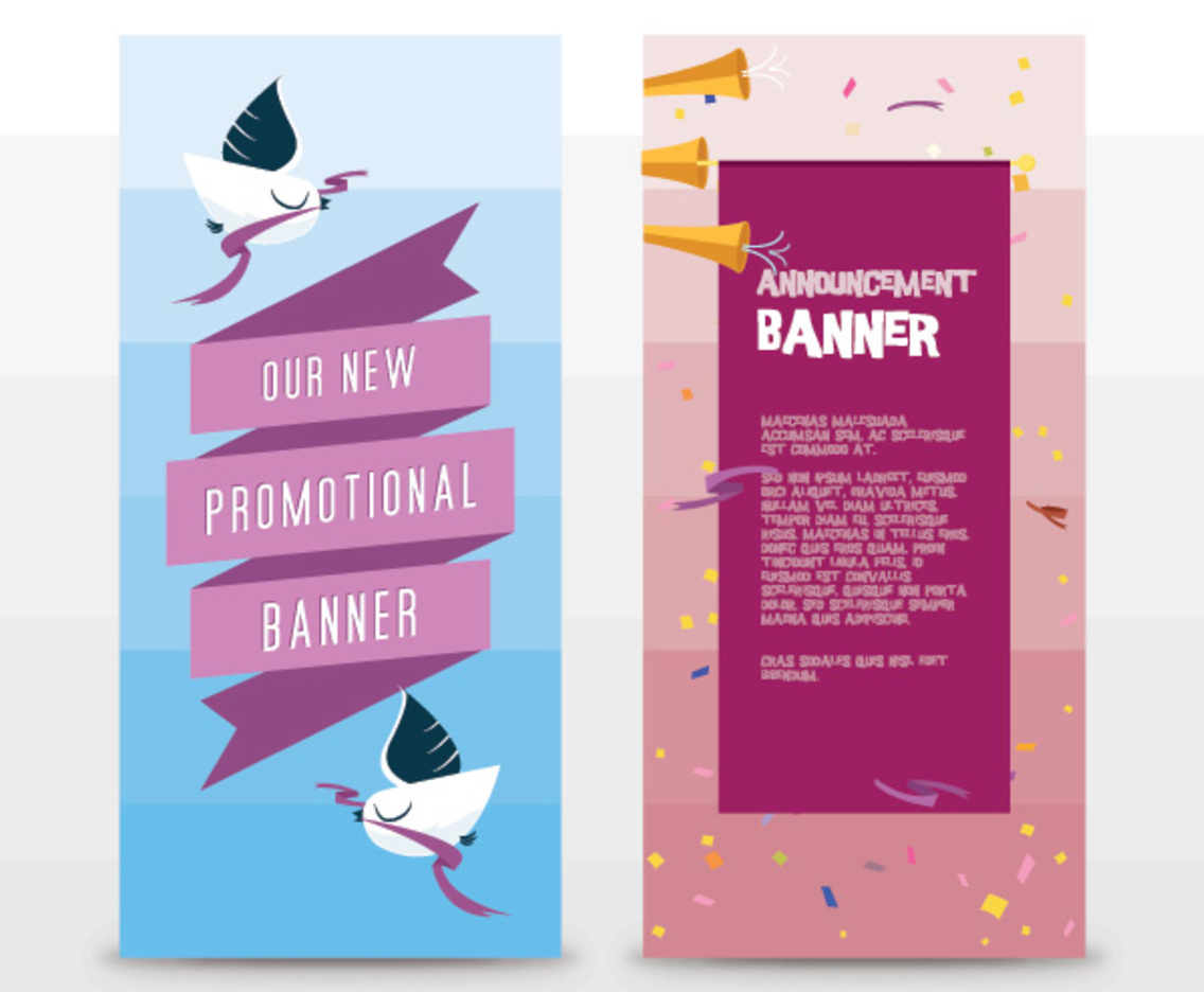 Announcement Banners