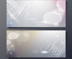 Shiny Bubble Banners