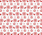 Red White Christmas Pattern