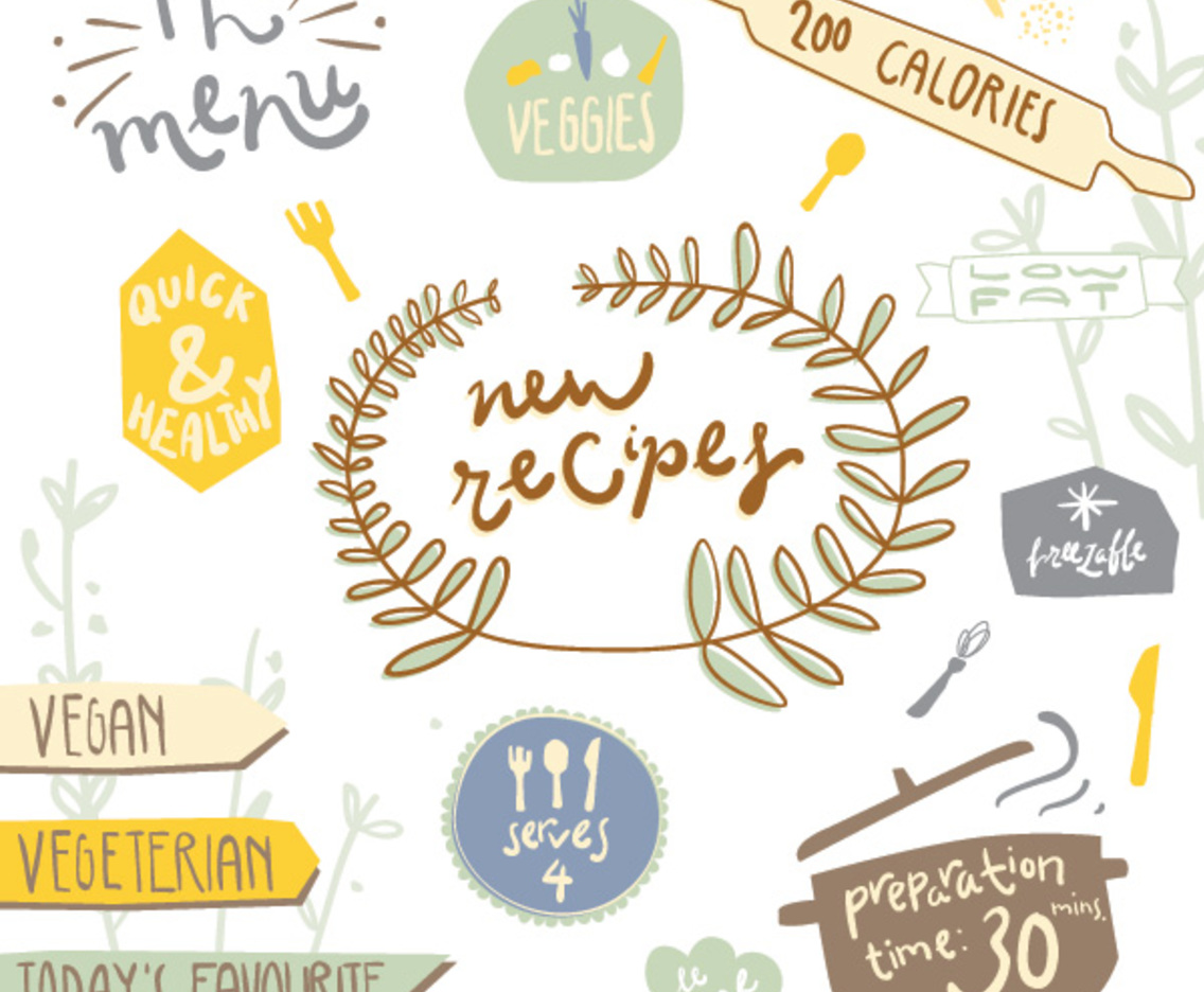 Recipe Stickers