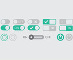 On Off Button Vectors