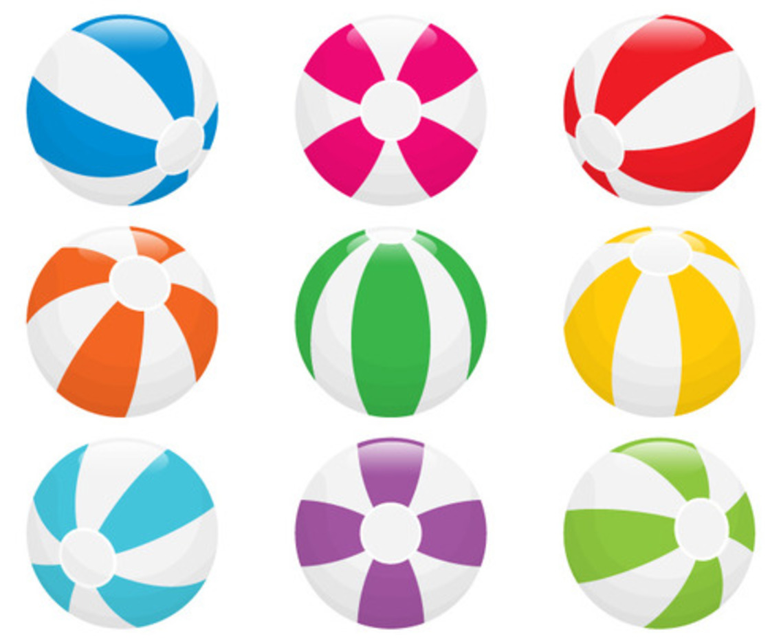 Beach Ball Vectors