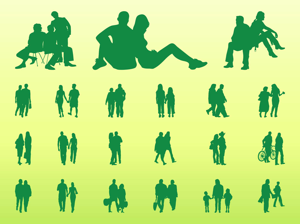 People In Groups Graphics