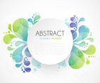 Abstract Splash Banner Design