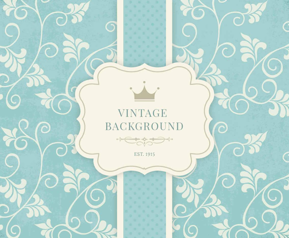 Vintage Floral Background Vector Art Graphics Freevector Com