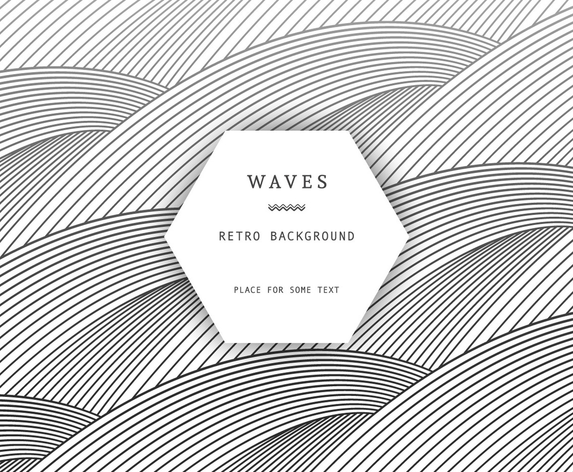 Retro Waves Background