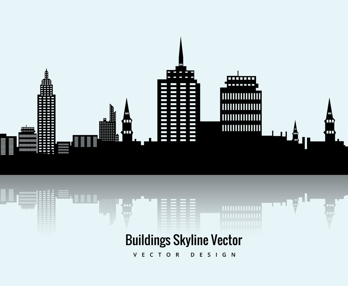 buildings skyline vector vector art graphics freevector com rh freevector com vector building change detection victor building concepts
