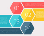 Infographics number diagram vector illustration