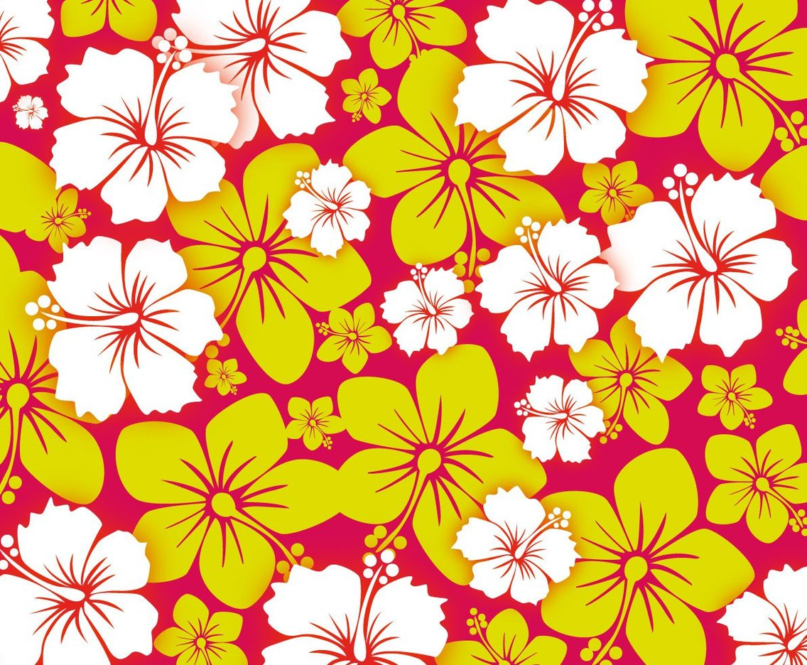 free hawai flower background vector vector art amp graphics