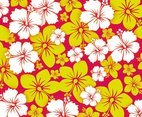 Free Hawai Flower Background Vector