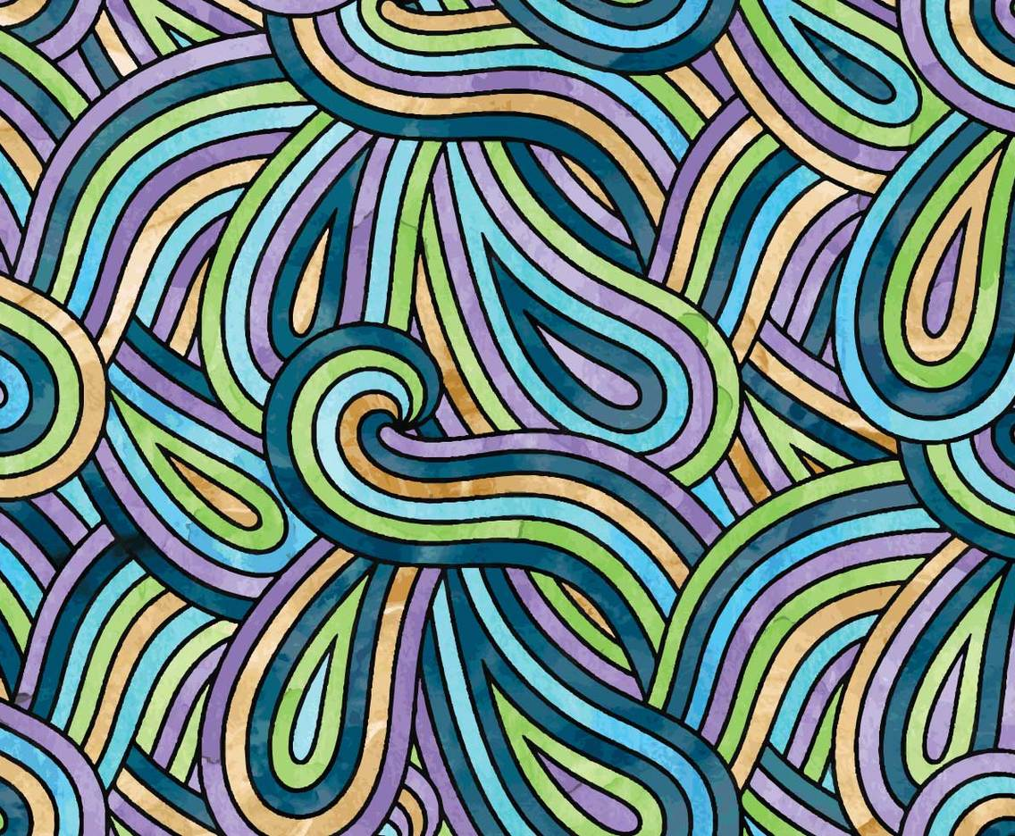 Watercolor Swirl Background