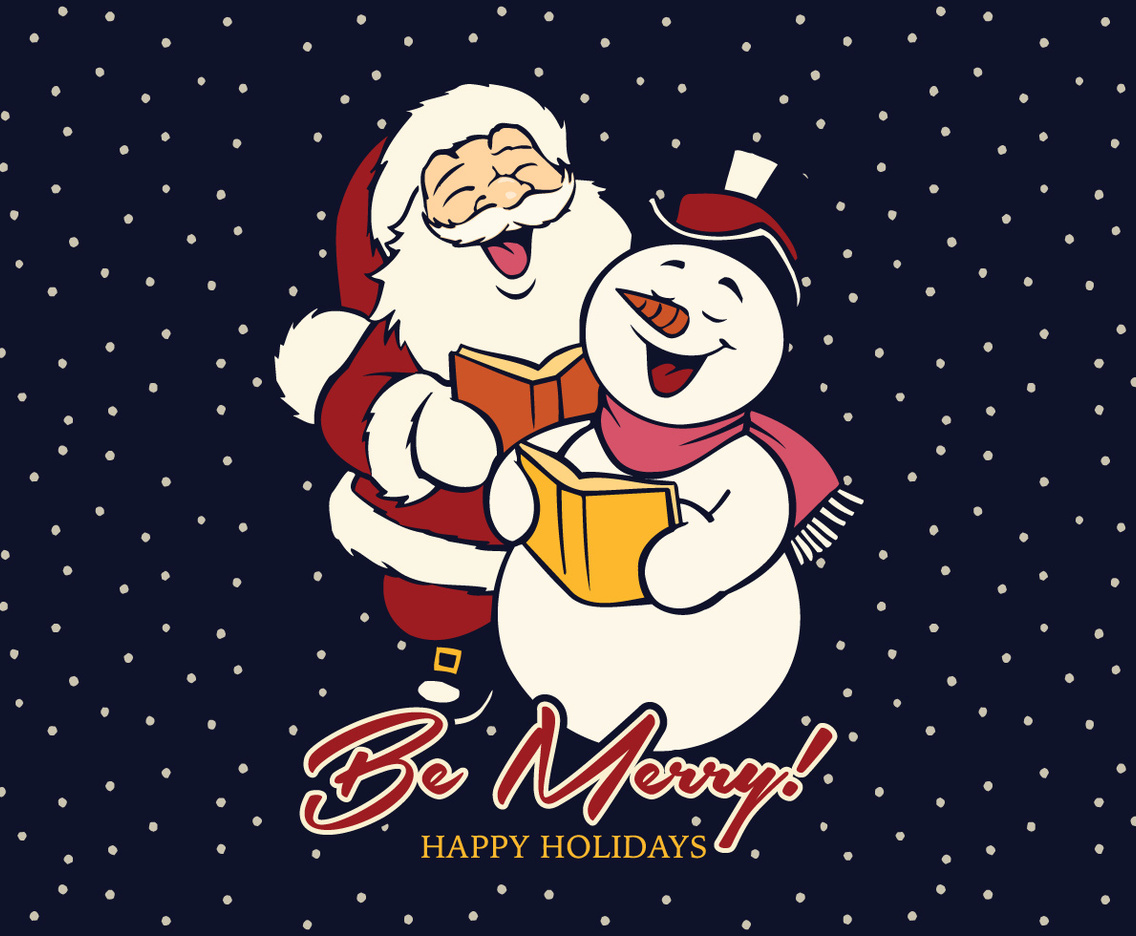 Be Merry Background