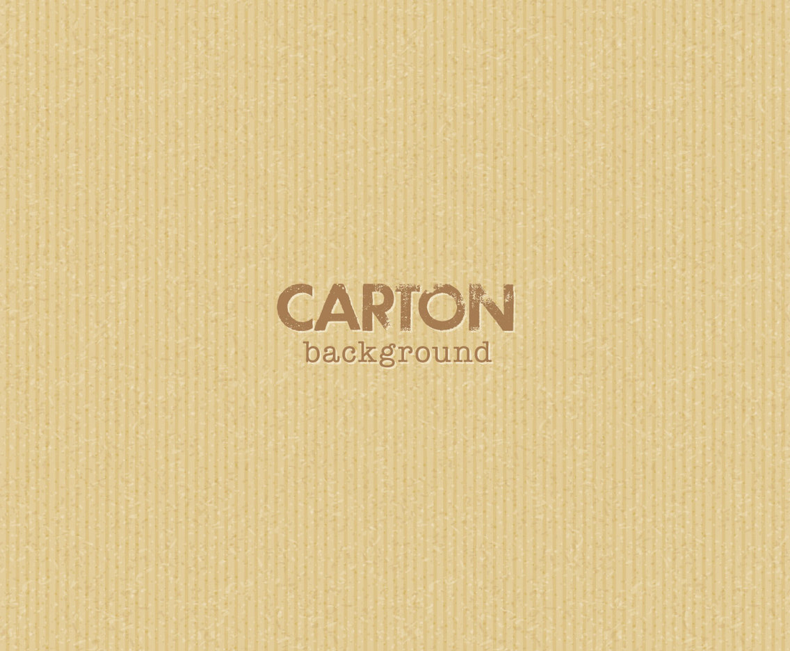 Carton Background