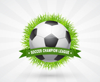 Soccer Champion League Design
