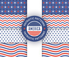 Patriot Seamless Patterns