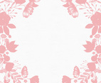Soft Pink Floral Background