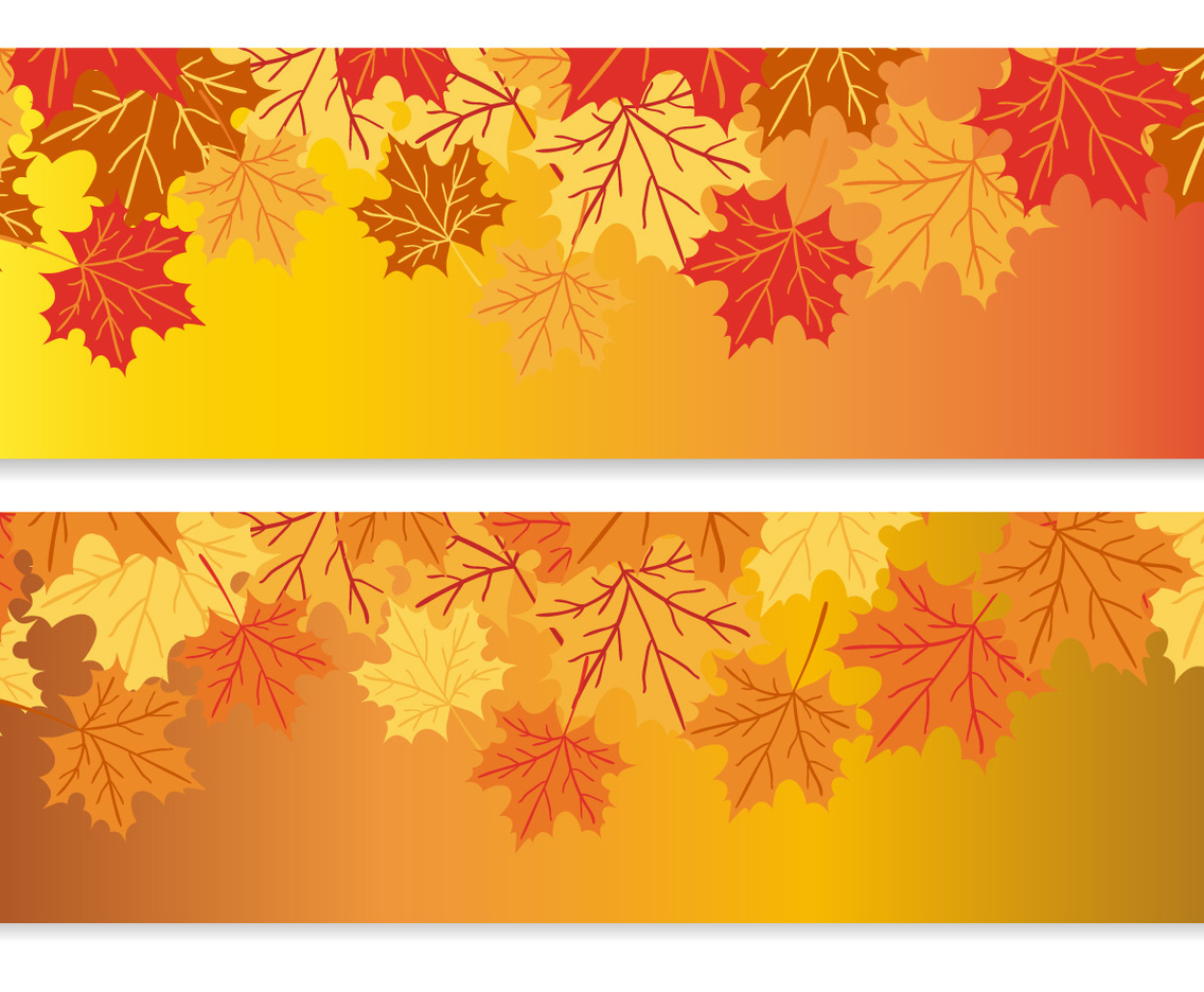 Autumn Vector Banners