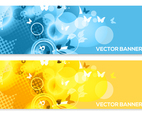Colorful Abstract Vector Banners