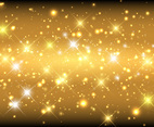 Gold Sparkle Abstract Background