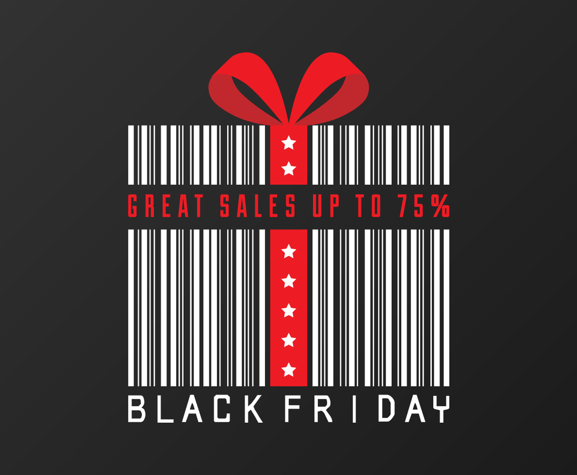 Black Friday Sale Concept