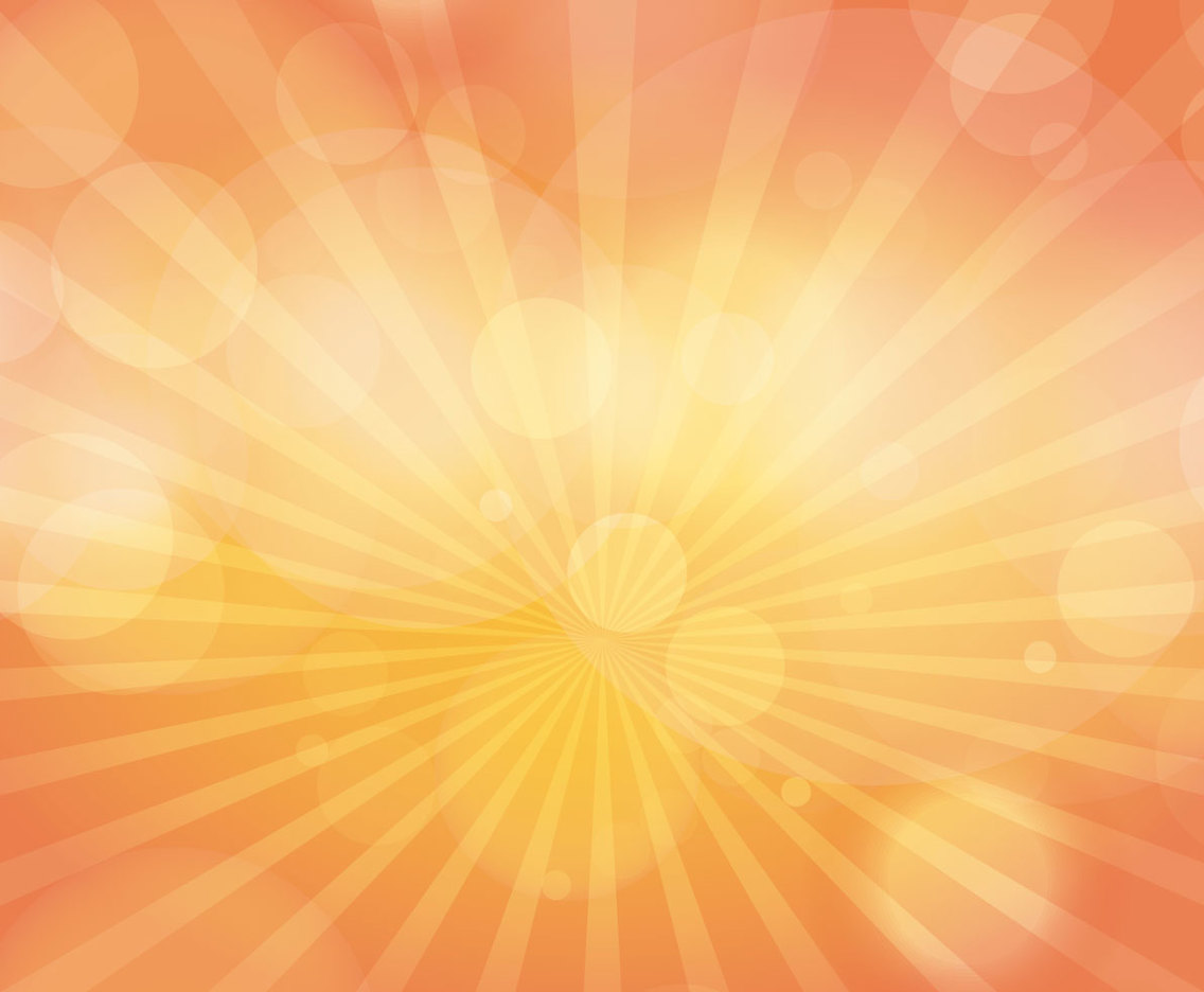 Sunburst Bokeh Background