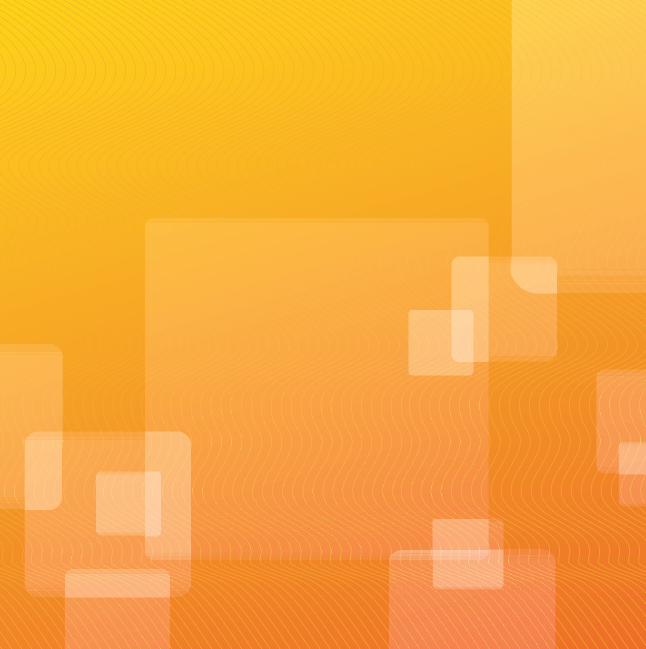 Free Abstract Orange Box Vector Wallpaper