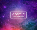 Watercolor Cosmic Background