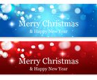 Beautiful Abstract Christmas Banners