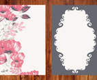 Beautiful Floral Card Template