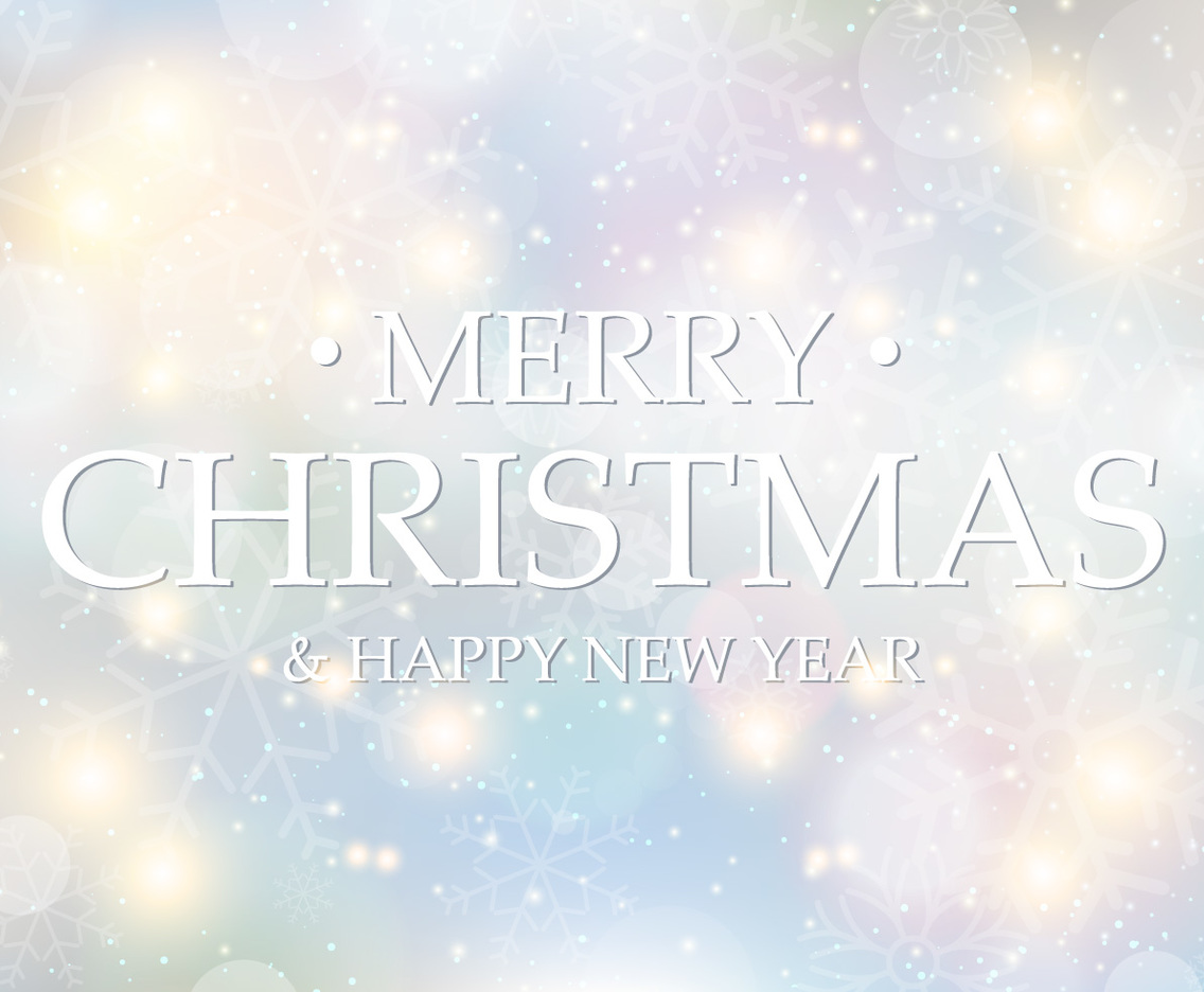 Beautiful Abstract Merry Christmas Background