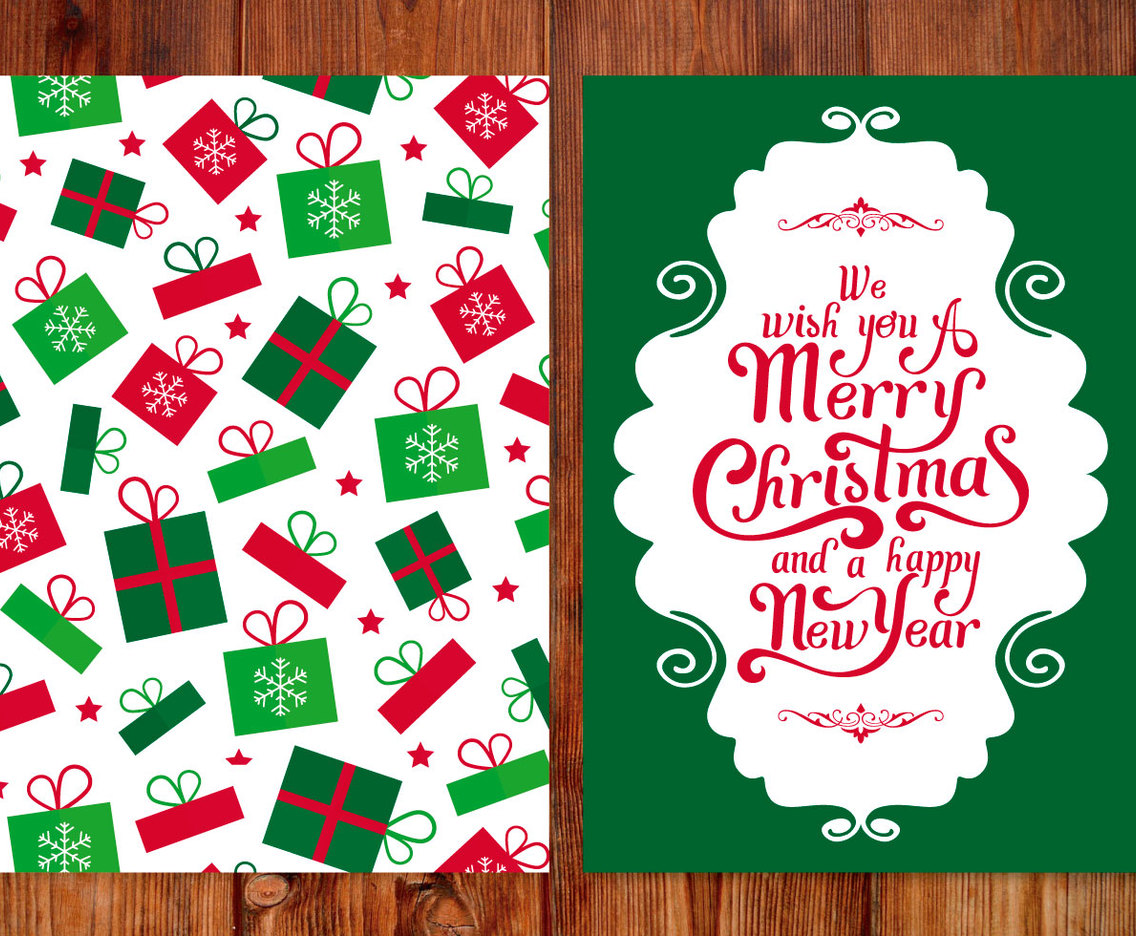 Christmas Gift Greeting Card