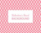 Cute Heart Pattern Background