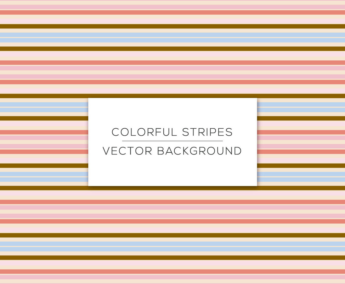 Colorful Stripe Background