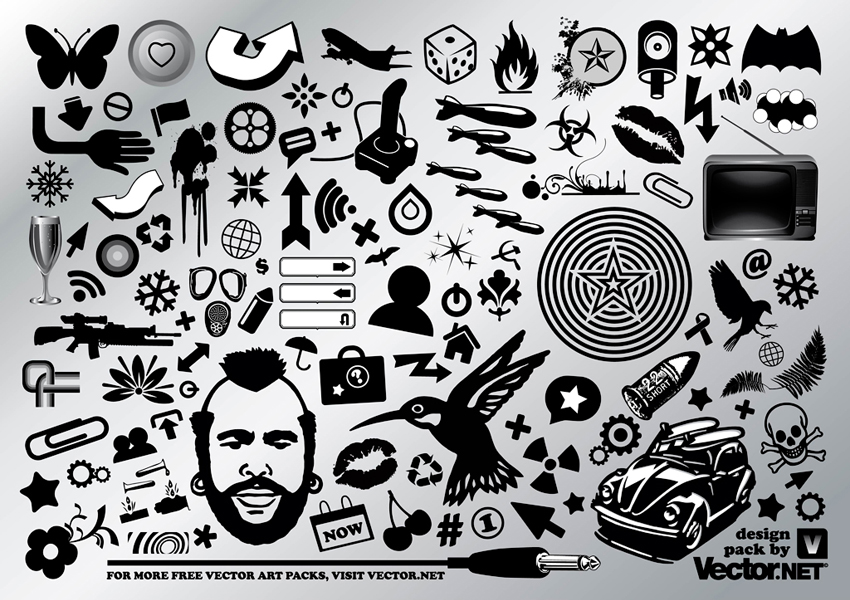 Cool vector graphic set for Cool drawing websites free