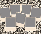 Damask Photo Collage Template