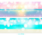 Colorful Sparkle Banners