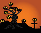 Halloween Tree Graphics