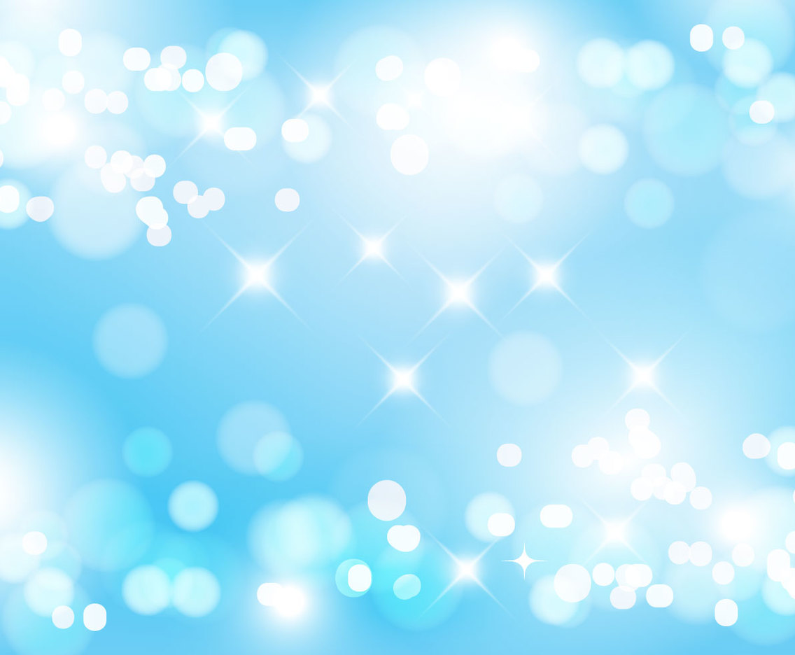 Blue Abstract Sparkles Background