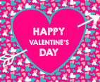 Colorful Valentine's Day Background