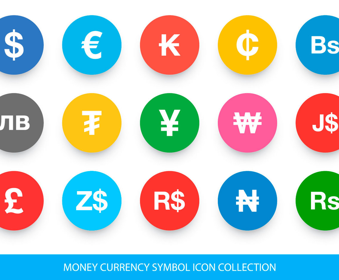 Currency Symbol Icon Collection