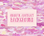 Pink Camo Style Colorful Abstract Background